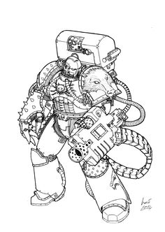 Favorite Piece Of 40k Art | Page 64 | Warhammer 40,000: Eternal Crusade - Official Forum