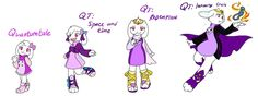 Quantumtale: Healer Toriel Outfit Timeline by perfectshadow06 on DeviantArt