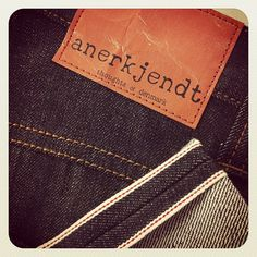 Anerkjendt Selvedge Jeans,  in store now! @ henry - garment archaeology