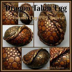 Brown Talon Dragon Egg Tutorial