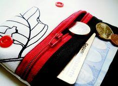 Kleine genähte Geldbörse (von Kleine Kleinigkeiten)
