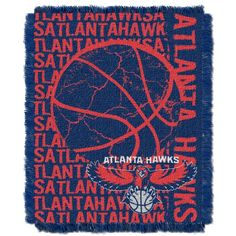 NBA Atlanta Hawks 48 x 60Inch Double Play Jacquard Triple Woven Throw >>> Click image to review more details.