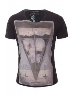 Religion Clothing T-Shirt Last Life in Jet Black