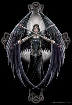 ...  not as bright, childish, and colorful as their fairy counterparts, angels have often been portrayed as symbols of light and good; the idea of a dark angel symbolizing evil, or a fallen condition.