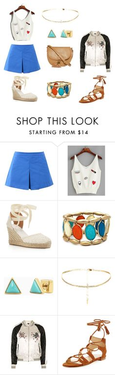 """""""Summer day"""" by patricia-donuz on Polyvore featuring Love Moschino, Soludos, New Directions, Stella & Dot, Topshop, Stuart Weitzman and T-shirt & Jeans"""