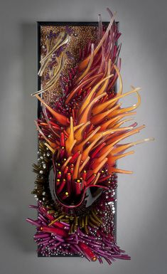 "Shayna Leib - Glass Sculpture ""Low Tide II"" ____________Holy crap! This artist is AMAZING!"