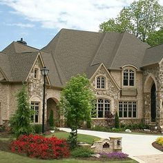 brick and stone exterior combinations | Stone And Brick Combinations Design Ideas, Pictures, Remodel, and ...