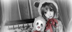 Maddison and Ted...BJDs by Liz Frost