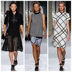 My first four picks from Proenza Schouler...
