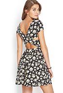 Floral Crossback Dress
