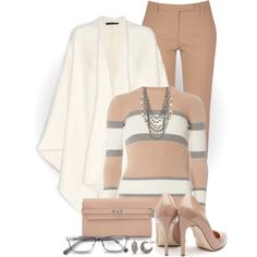 Ivory and Nude by snickersmother on Polyvore featuring Dorothy Perkins, The Row, True Royal, Rupert Sanderson, Hermès, Simply Vera, Marc Jacobs and RGB