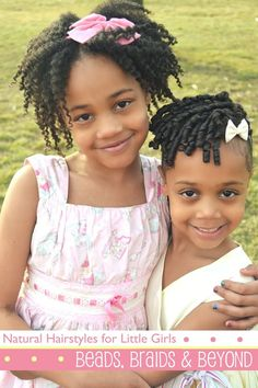 Hundreds of tips, tricks and hair styles for little girls with natural hair! Pin now, read later.