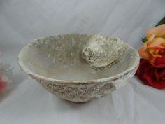 Antique Shipwreck Celadon Pottery Bowl  So Cool  by SecondWindShop