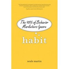 Whilst the type face and layout look a bit amateurish, Neale Martin has written a great book on habituation.  I have been strongly influenced by his thinking.
