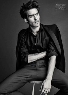 Jon Kortajarena by Richard Ramos for GQ Spain