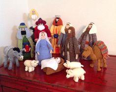 15 piece Nativity Set I made for a friend.