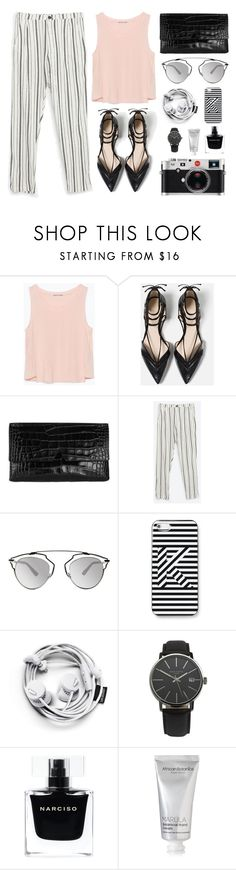 """""""Fashion #9"""" by twtl ❤ liked on Polyvore featuring Zara, Vince, Christian Dior, Kate Spade Saturday, Leica, Narciso Rodriguez, African Botanics, women's clothing, women and female"""