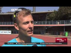Johan Cronje • South African Athlete in training • Bright Sparks
