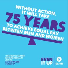 Inequality is out of control. Time to #EvenItUp: https://act.oxfam.org/international/even