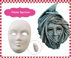 Powertex • Plaster figurines • Mask