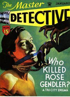 master detective pulp magazine