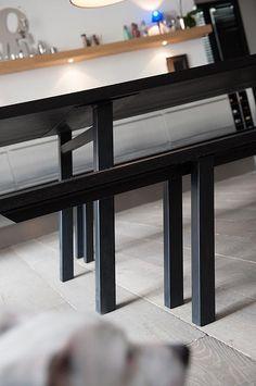 tables sur mesure en vieux bois la parqueterie nouvelle bois pinterest. Black Bedroom Furniture Sets. Home Design Ideas