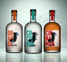Jays Distillery is a British Vodka Maker with Sophisticated Packaging #branding trendhunter.com