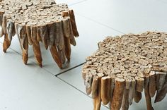 Tables Made Of Baguettes