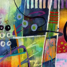 Fresh Jazz In A Square Painting by Hailey E Herrera