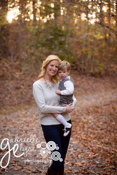 Beautiful Fall Family Photos at North Cary Park, NC  Gabrielle Elyse Photography