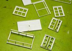 How to make windows and doors| como hacer Ventanas y puertas