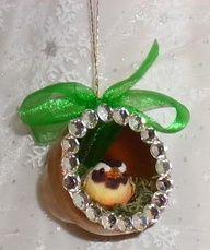 "Bird Nest Clay Pot #Christmas Ornament"" data-componentType=""MODAL_PIN"