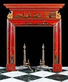 Image result for chinoiserie fireplace