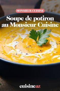 La soupe de potiron est une entrée d'automne par excellence ! C'est facile de la préparer au Monsieur Cuisine.  #recette#cuisine#soupe#courge #potiron #robotculinaire #MonsieurCuisine