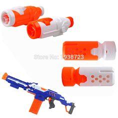 1xモジュラス近接バレルターゲティングスコープ視力アップグレードアクセサリーマフラー用nerf銃n-ストライクエリートブラスター子供おもちゃ