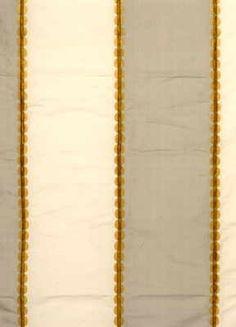 'Valentino Stripe' Gold/Silver :: GP&J Baker Fabrics Gp&j Baker, British Style, Valentino, Gold Necklace, Fabrics, Textiles, Silver, Jewelry, Design