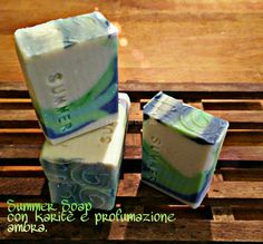 Summer! With shea butter. A wrong example of Skinny shimmy! #soap #diy #soap_color #soap_CP #soap_swirl #cp_soap