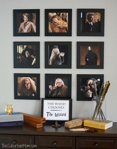 Wall Hogwarts teacher photo display? Room of Requirement