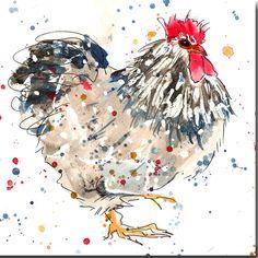 Chicken The Skinny card Company