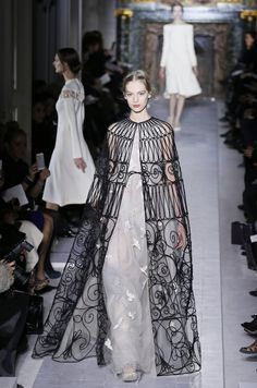 What Hath Iron Wrought? / Valentino Couture Spring 2013