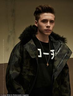 Is Brooklyn Beckham the next big thing in fashion? #dailymail