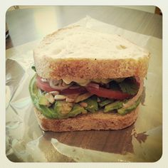Bread and Sons' avacado sandwich! Check out our list for amazing sandwich restaurants in #Ottawa ON.