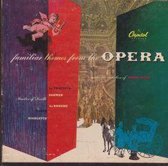 "Serge Dupré / Familiar Themes From The Opera / Three 7"" Vinyl 45 Records / Capitol KCF 2007 / RARE #OperaMusic #BoxSet"