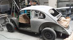 Restauration my Aircooled Kever (beatle) 1968. Sanding almost ready ;)