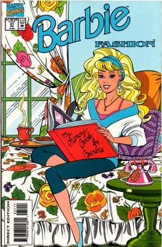 Vintage BARBIE COMIC BOOK| Comic Fashion Book No.31 /Vintage Barbie Funny…