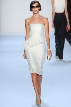 Badgley Mischka Spring 2014 www.renttherunway... Repin your favorite #NYFW looks to get them from the Runway to #RTR!