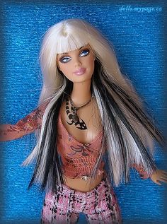 Barbie with Tattoo´s