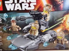 LEGO-Star-Wars-75131-Resistance-Trooper-Battle-Pack-Ages-6-12Y-112-pc-Set | Toy Treasure Box