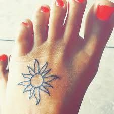Bildergebnis für sonnen tattoo selber machen