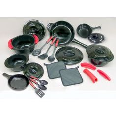 Santa I've been good this year! 24 Piece Ceramic Cookware Set with Free Shipping - Xtrema by Ceramcor